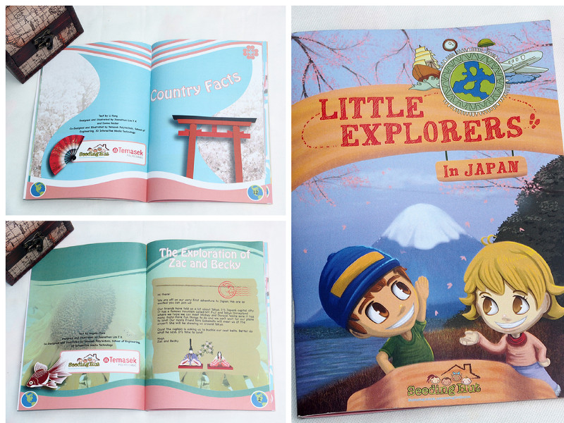 Little Explorers Activity Book