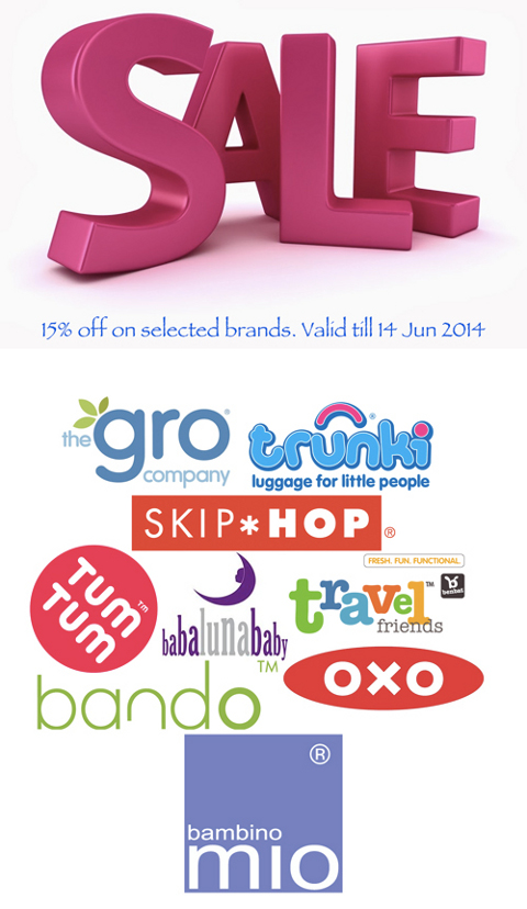 June Sale 2014 from PrettyMums