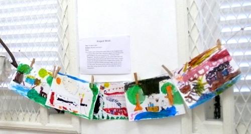 peg your child's artwork