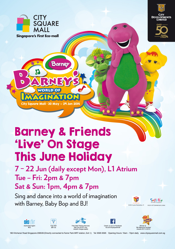 Barney & Friends city square mall