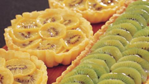 Kiwifruit Almond Tart