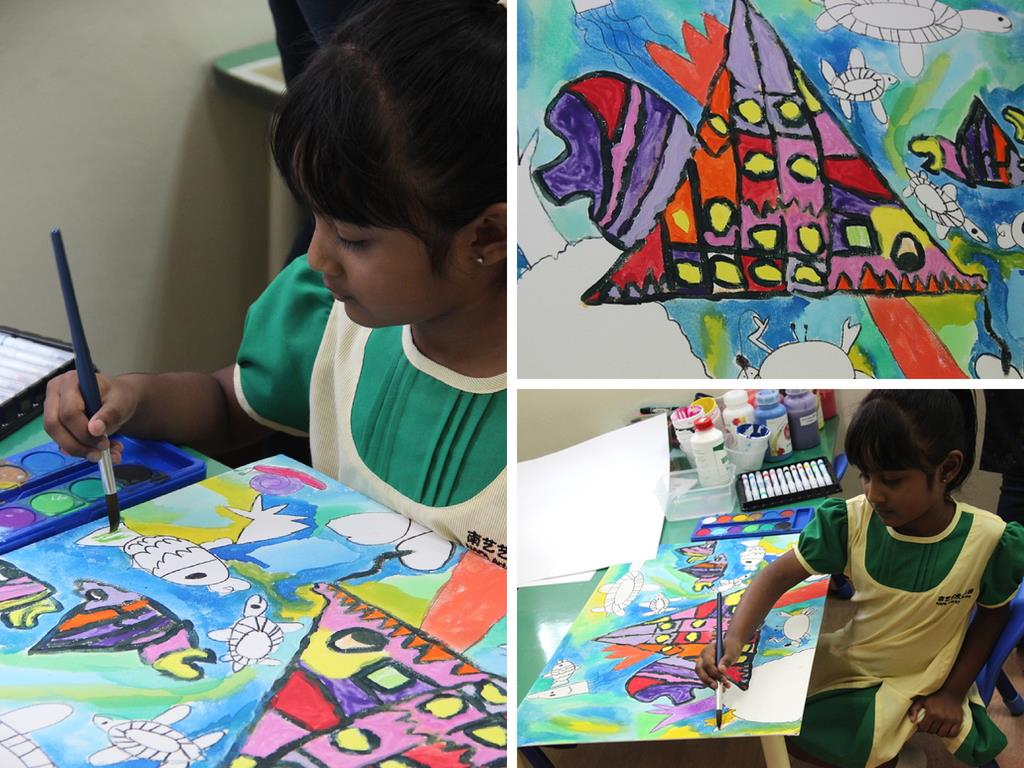 NAFA Arts Kindergarten Art Program