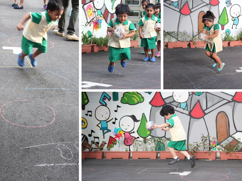 NAFA Arts Kindergarten Outdoor learning
