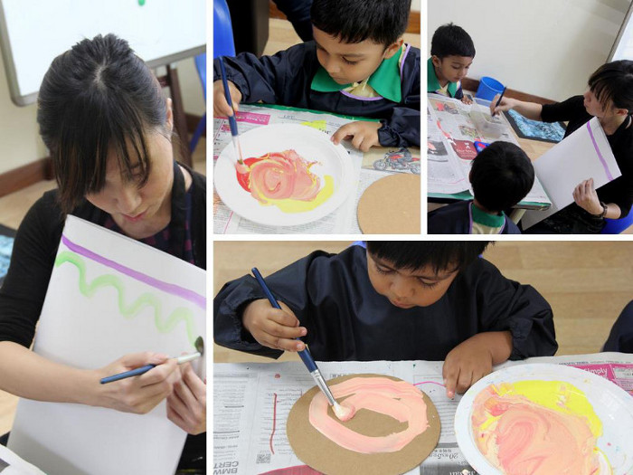 NAFA Arts Kindergarten Art Classes