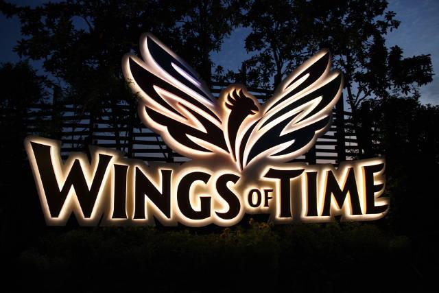Sentosa Wings of Time Logo