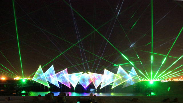 Sentosa Wings of Time laser show