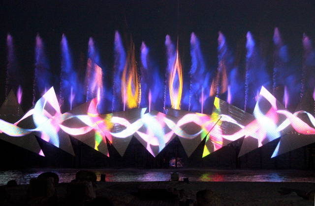 Sentosa Wings of Time musical fountain