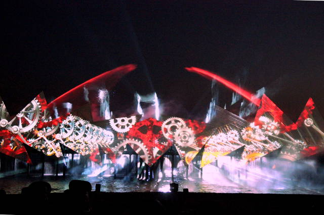 Sentosa Wings of Time show