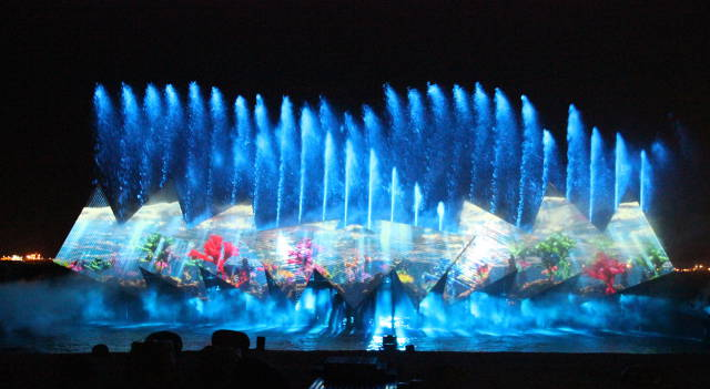 Sentosa Wings of Time water musical