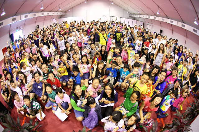 Learning Amazement Group Photo by NTUC U Family