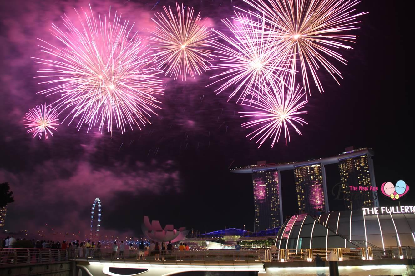 NDP 2017 Fireworks One Fullerton