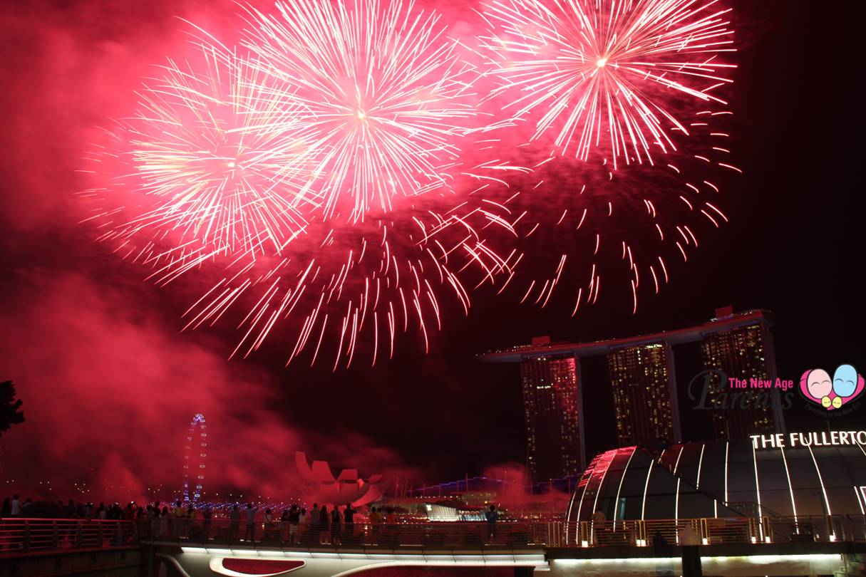 SG50 NDP 2015 Fireworks Rehearsals