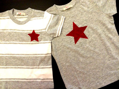 Singapore National Day art n craft activity for kids - star arising shirt