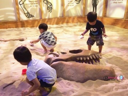 Dino Pit at KidsStop