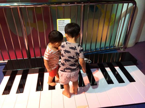 Exploring Music at KidsStop