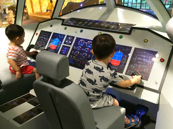 Flight and space at KidsStop