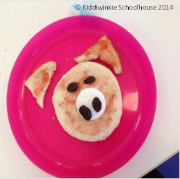 Food craft recipe for picky eaters