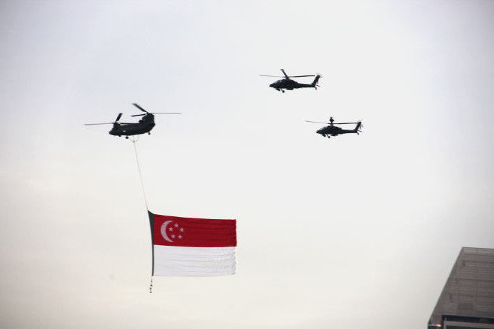 National Day Parade - Singapore Flag