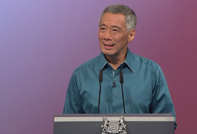 Singapore Prime Minister Lee Hsien Long