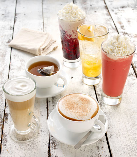 Swissbake cafe drinks menu