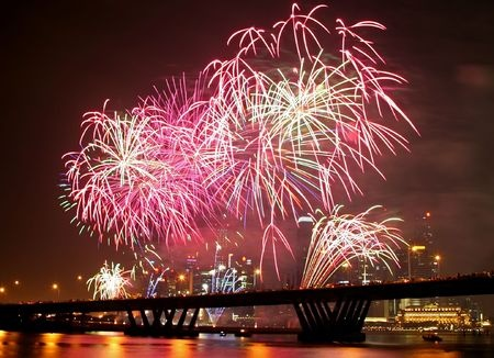 Where to catch fireworks in Singapore