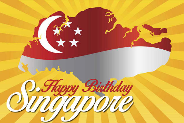 celebrating singapores national day