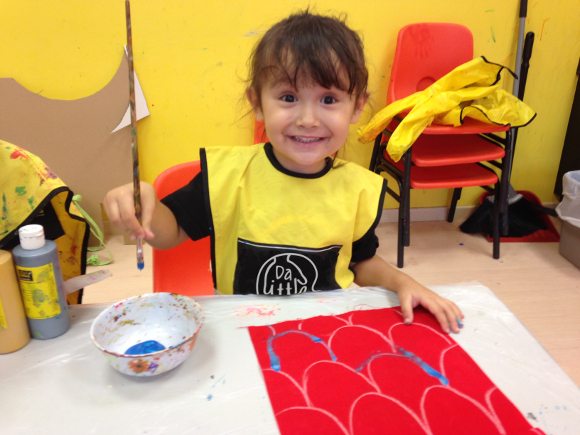da little arts school girl
