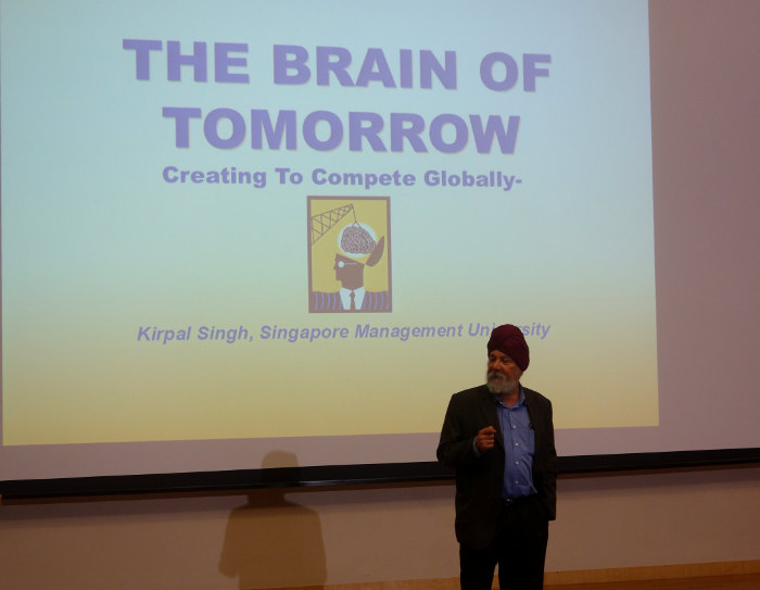 MindChamps and SMU - The Brain of Tomorrow Seminar Kirpal Singh