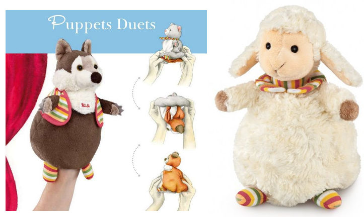 Puppet Duets Toy for toddlers