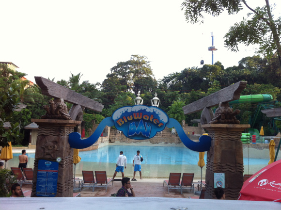 bluwater bay adventure cove