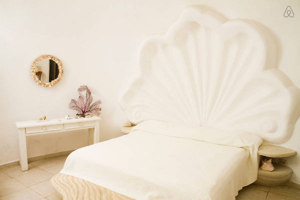 seashell theme bedroom