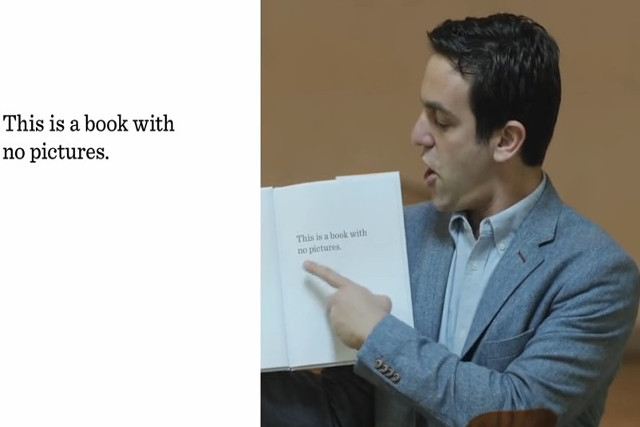 the book with no pictures B. J. Novak