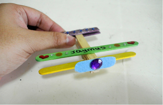 Art and craft - toy aeroplane