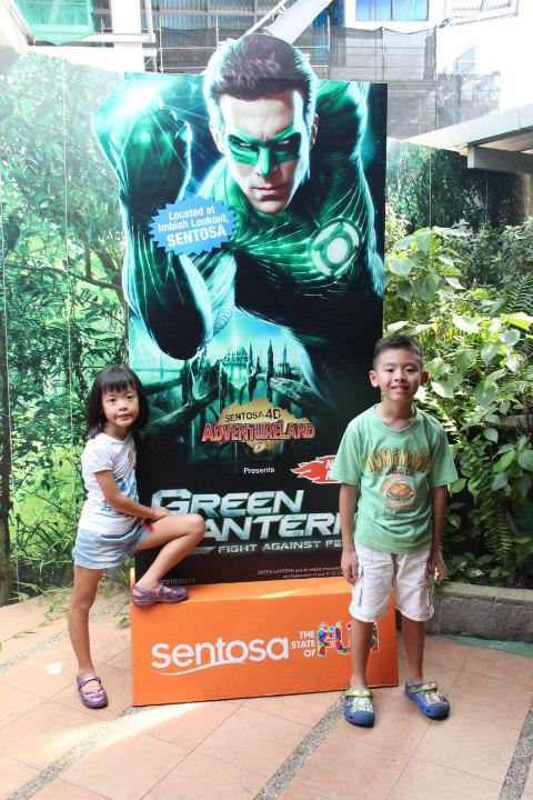 Green Lantern 4D show at Sentosa
