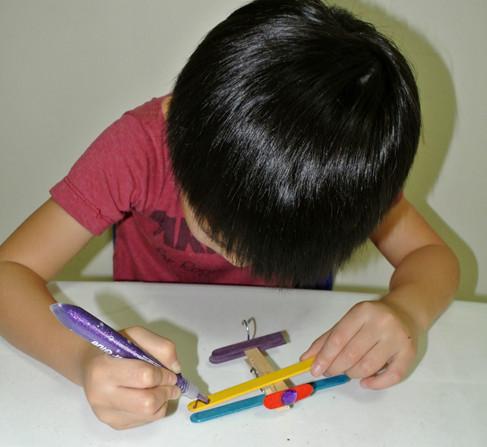How to make a toy aeroplane step 7