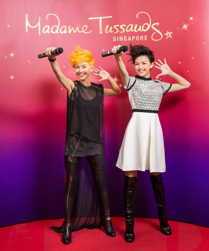 Madame Tussauds Singapore - Stefanie Sun