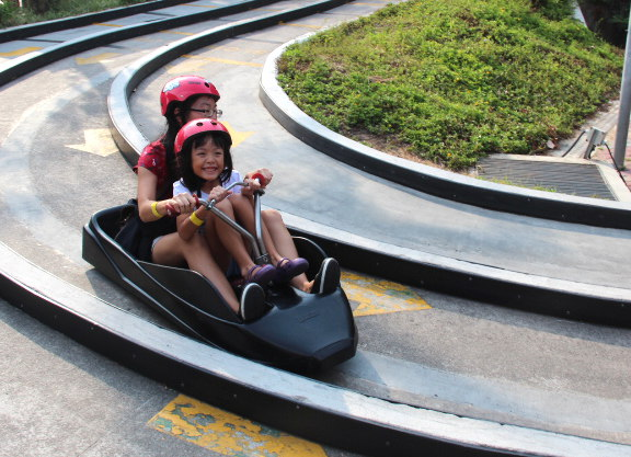 Sentosa Skyline Luge ride