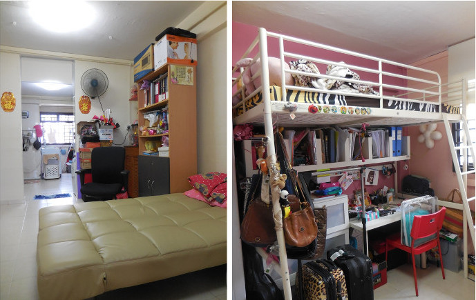 Mdm Alice Teo rented flat