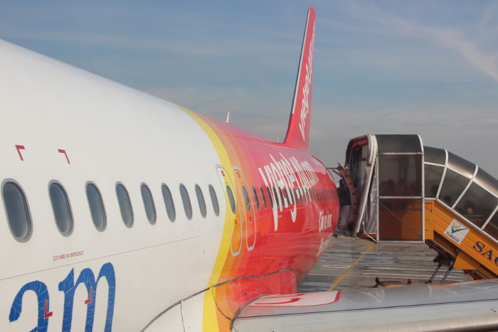 VietJet direct flight from Singapore to Vietnam