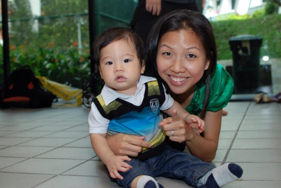 Yvonne and her son
