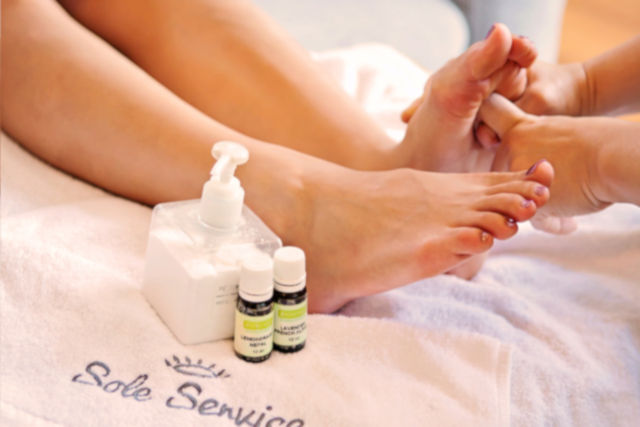 sole service - spa at your doorstep