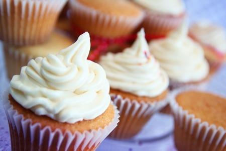 Allergen Free recipe - Vanilla Cupcakes with Vanilla Frosting