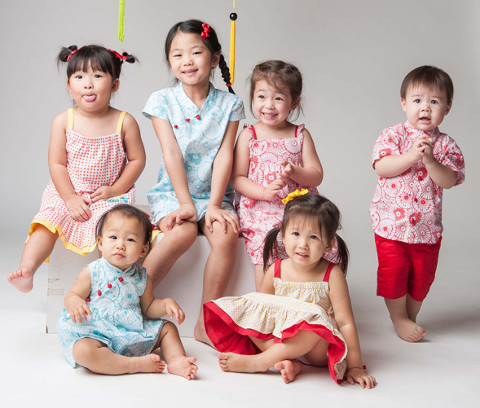 CNY Clothes for kids and babies
