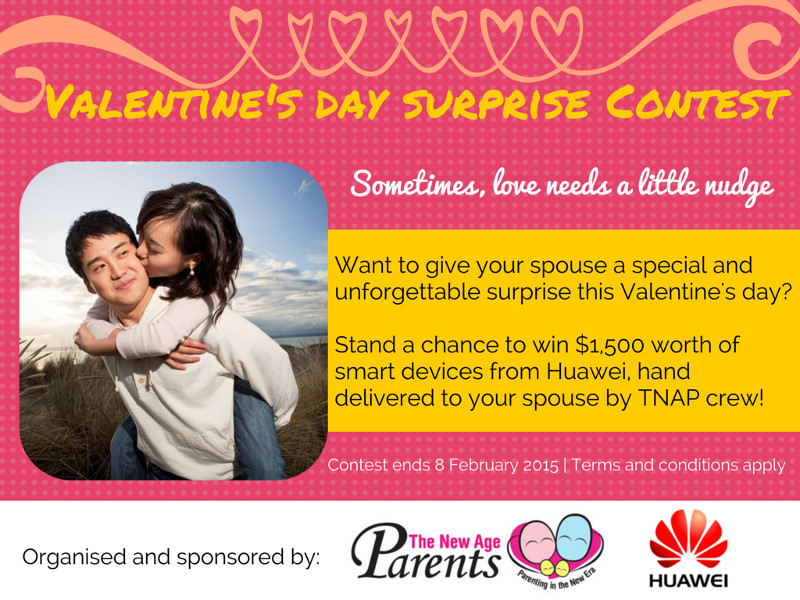 TNAP and Huawei Valentine's Day Contest