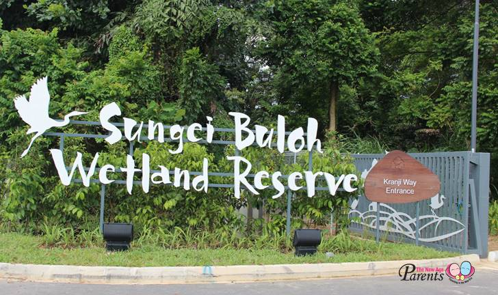 sungei buloh kranji entrance