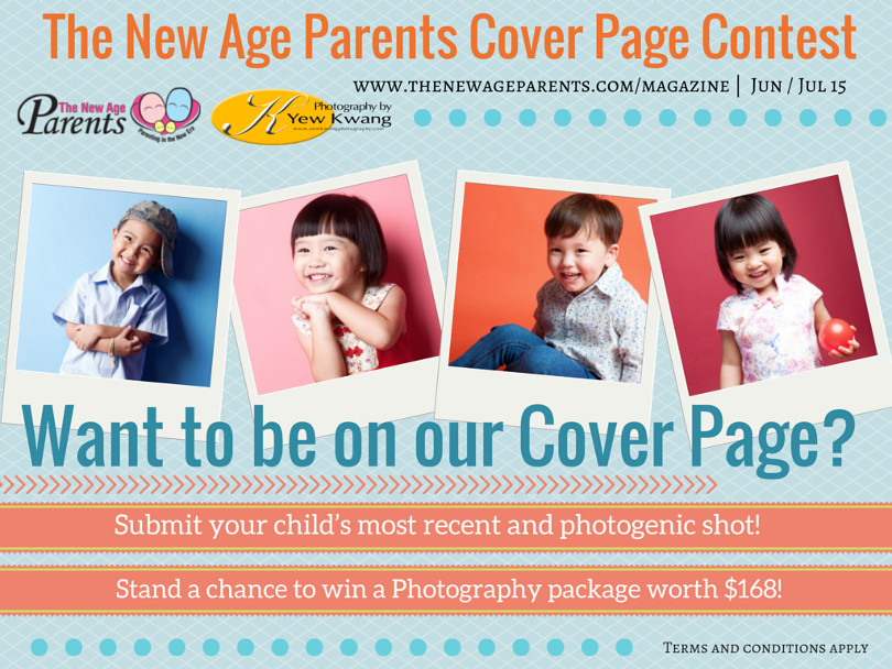 Coverpage Kid Photo Contest Feb Mar 15 | The New Age Parents