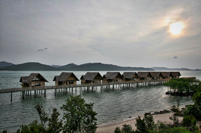 Telunas Resorts seavillas