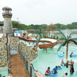 Wet World Water Park in Malaysia