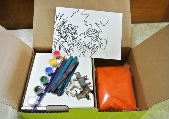 create your own sandbox art activity