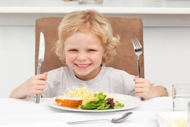 regular eating for children